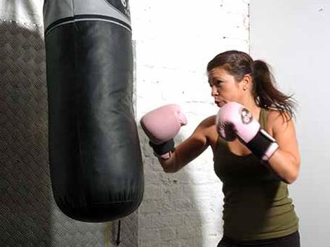 Самодельная боксерская груша - дешево и сердито