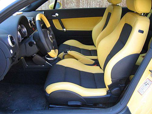 Как перетянуть сиденья авто