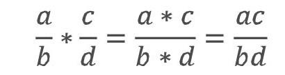 Как умножать дробь на число