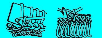 Вывязывание бахромы