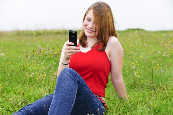 How to set Internet in the phone