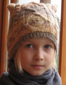 Как связать шапку девочке