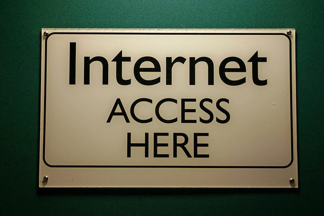 Настройка общего доступа позволит выходить в интернет всей сети