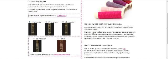 Как сделать схему вышивки