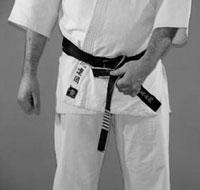 How to tie your belt in karate