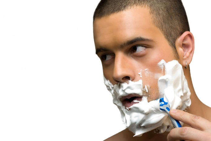 Frequent shaving will help you to grow a thick stubble on his face.