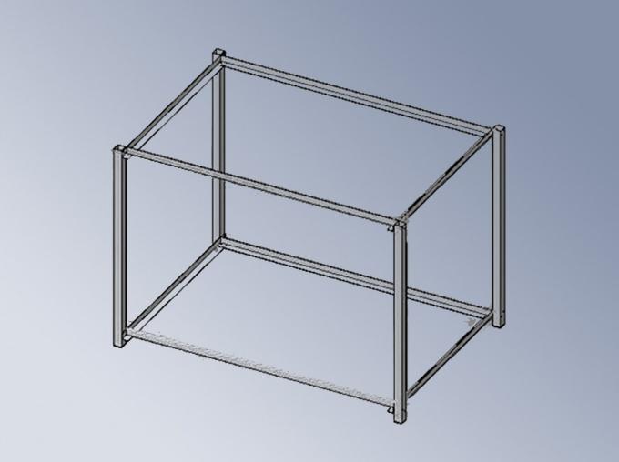 Как сделать каркас квадрата 440