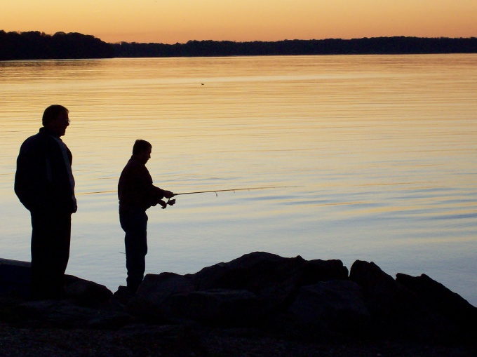 Ночь - лучшее время для ловли налима
