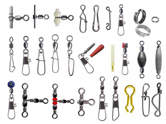 Carabiners and swivels