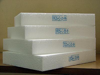 Пенопласт - отличный теплоизолирующий материал