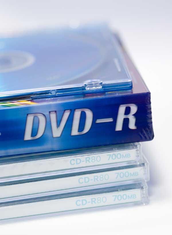 Записанный на DVD фильм можно просматривать на обычном DVD-плеере
