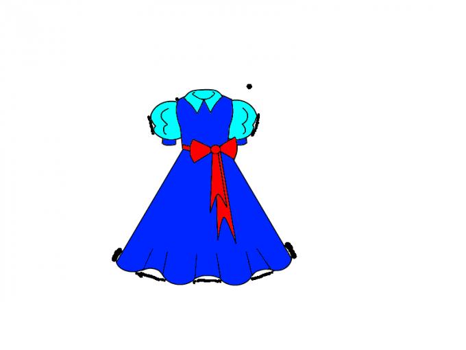 Как нарисовать <strong>платье</strong>