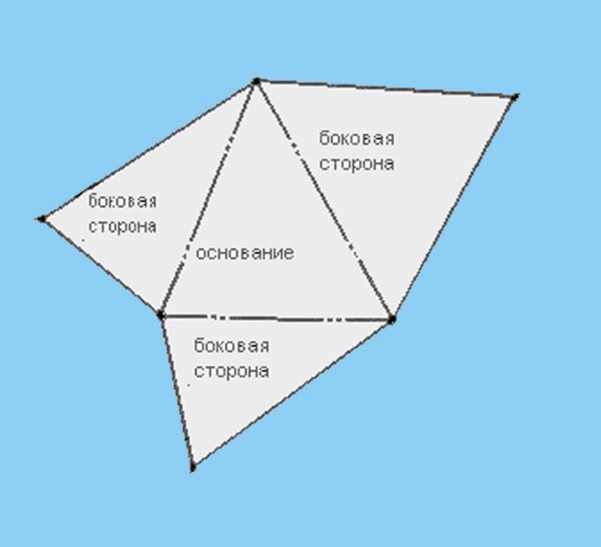 Как сделать пирамида из бумаги