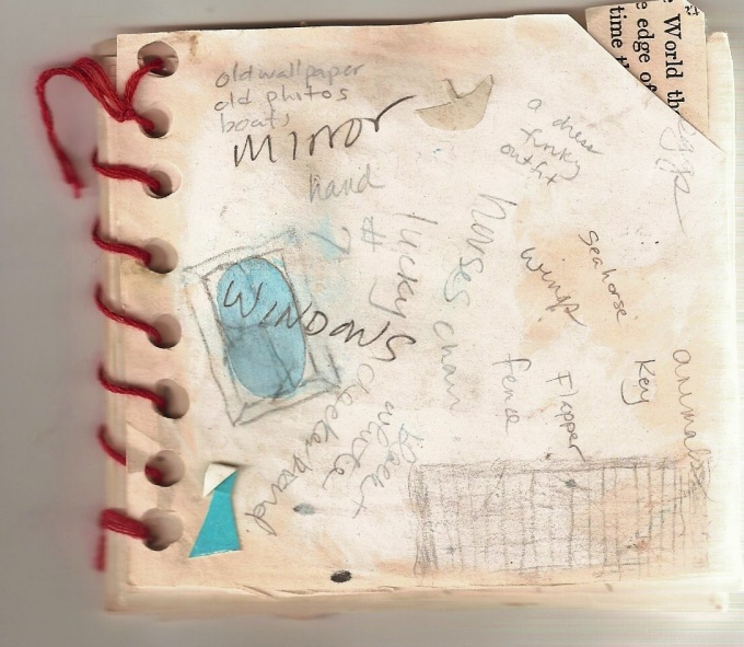 Design your own design of the notebook is a great way to develop creativity