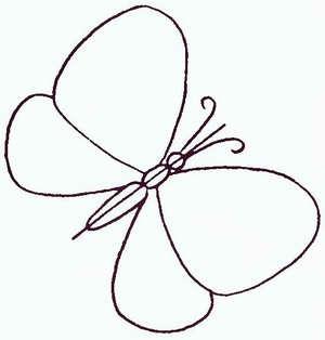 Как нарисовать <strong>бабочку</strong>
