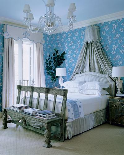При выборе цвета штор отталкивайтесь от цвета стен