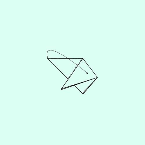Как сделать треуголку