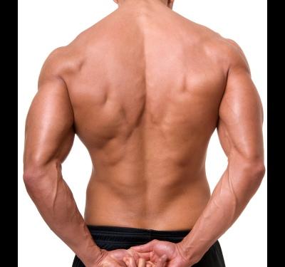 Как накачать мышцы спины мужчине в домашних условиях