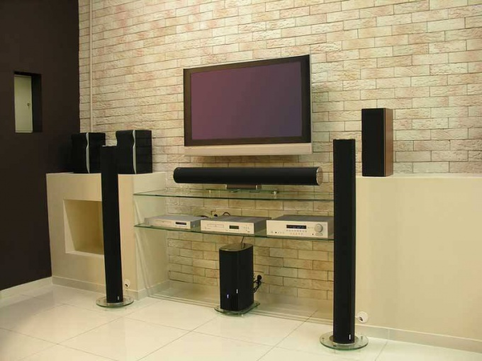 How to connect acoustics to TV