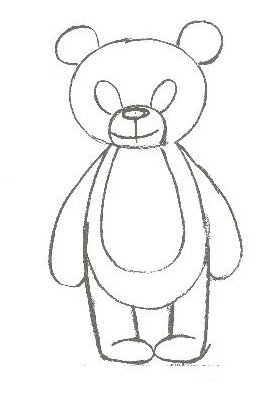 How to draw <strong>bear</strong>