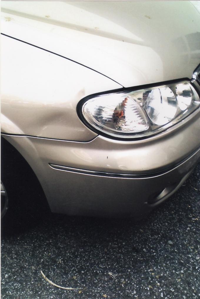 Повреждение любимой машинки может надолго испортить автовладельцу настроение