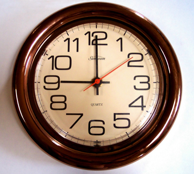 """Your full cycle - twelve hours - """"chronometer"""" completes twice a day"""