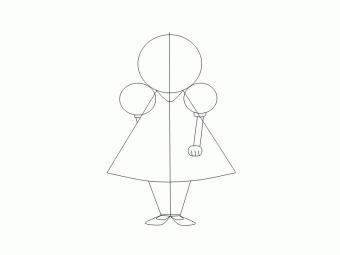 Как нарисовать <strong>девочку</strong>