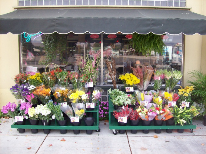 Put the soul in the window dressing of your store. Profitable arranged bouquets will attract buyers
