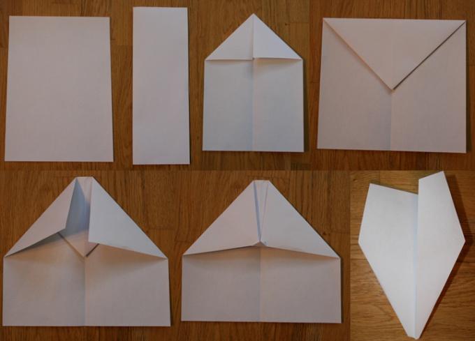 Как делать из бумаги самолет
