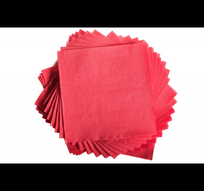 How to fold paper napkins into the napkin holder