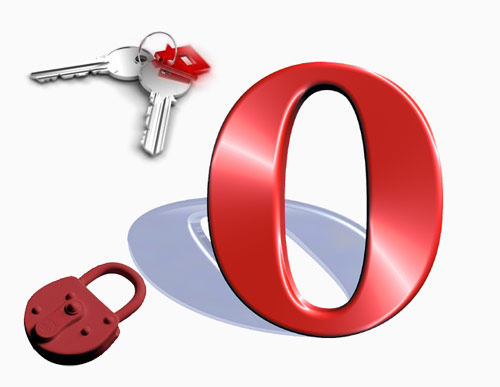 How to save passwords in Opera