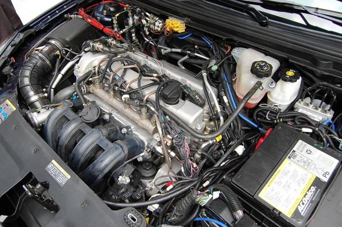 Найти номер на двигателе не так то просто