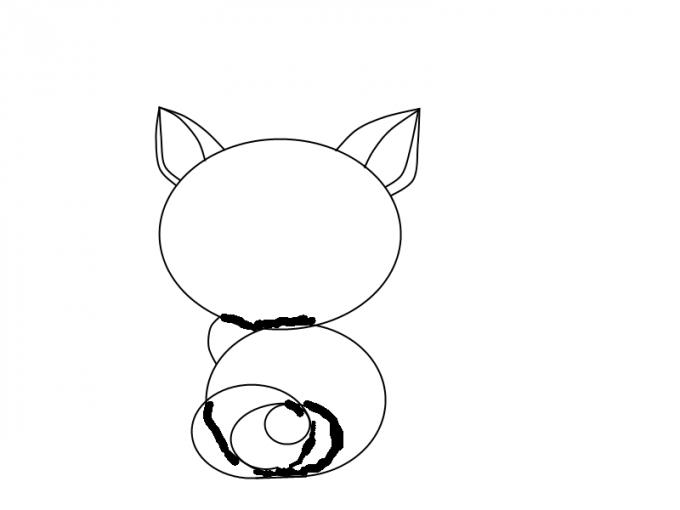 Как нарисовать <strong>котёнка</strong>