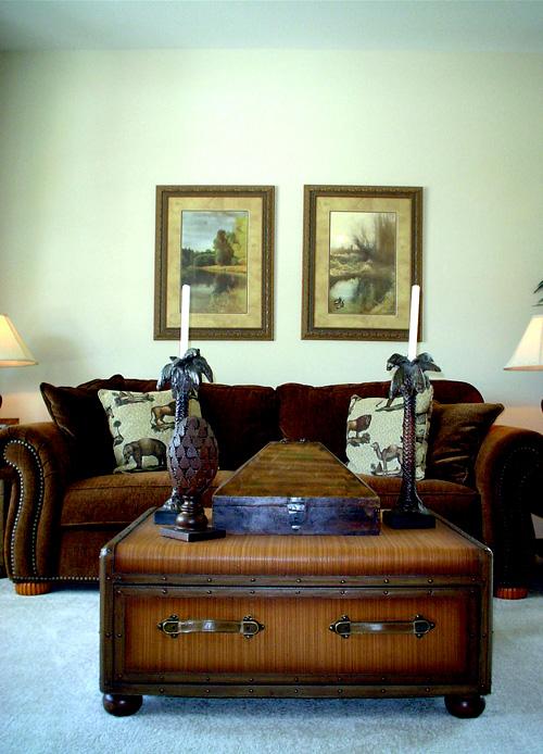 При оформлении гостиной нужно учитывать разные функциональности этой комнаты