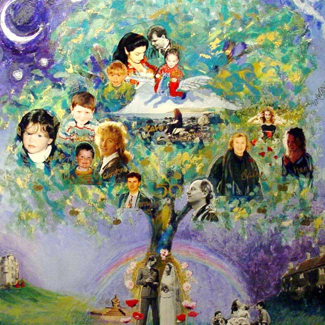 Составление генеалогического дерева уж точно не даст вам забыть дни рождения ближайших родственников