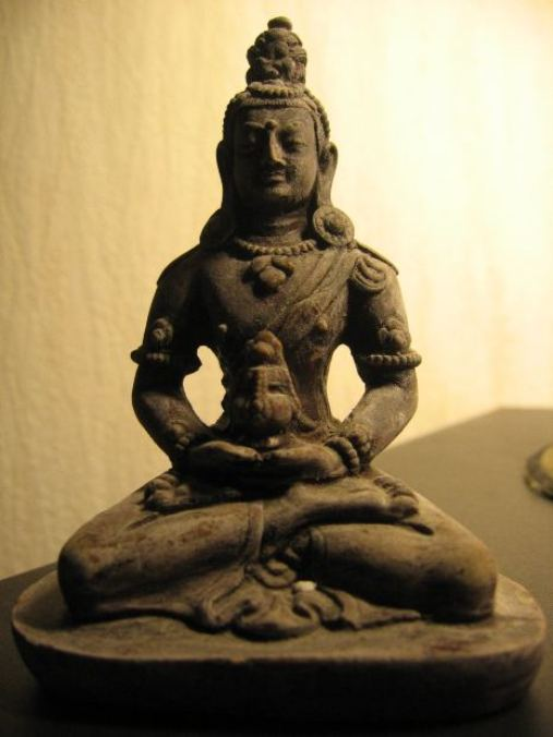 The Lotus pose has a positive effect on the entire body