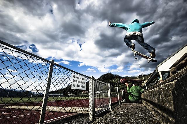 Олли - основа всех основ для любого скейтера