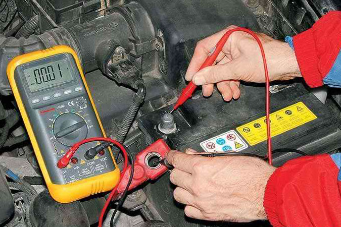How to check leakage current
