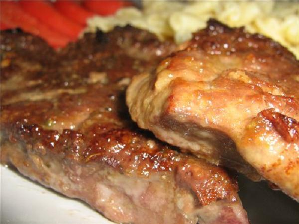 Отбивные из печени говяжьей рецепт в сметане