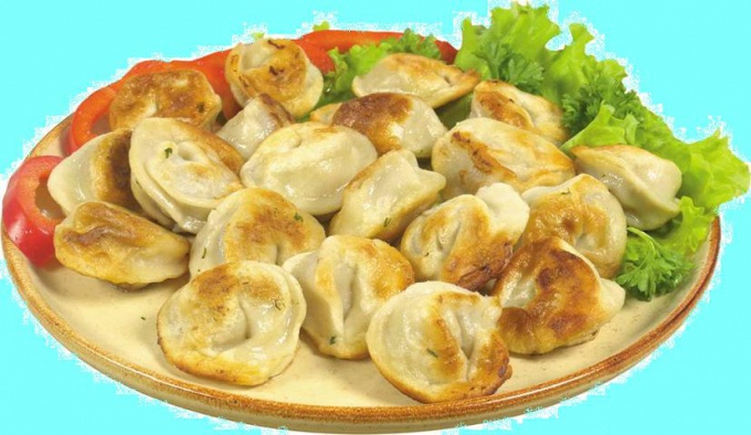 How to fry dumplings