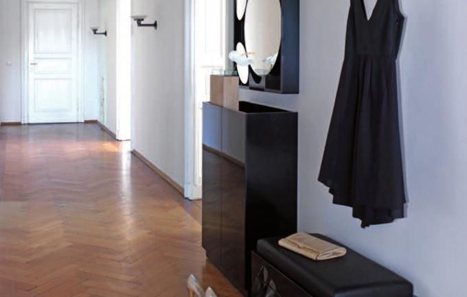 По оформлению прихожей складывается впечатление о всей квартире