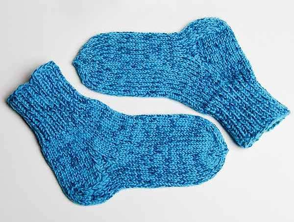 Как связать носочки