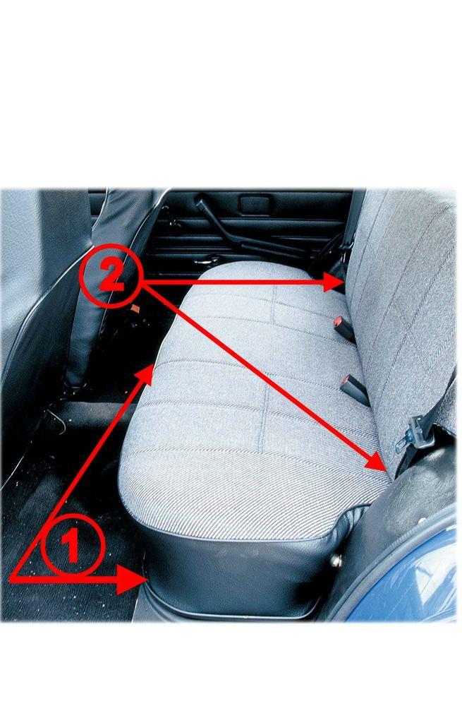 Как снять заднее сидение