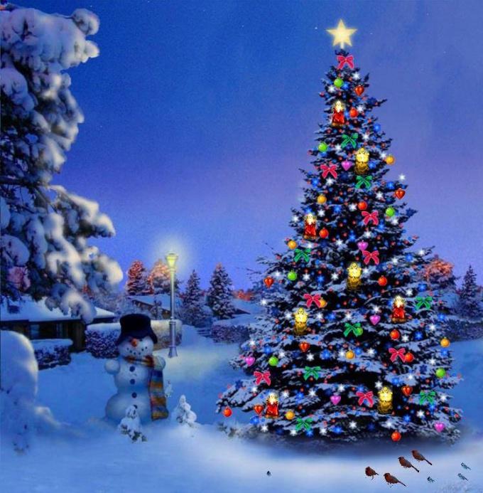 Елка - главный атрибут Нового года