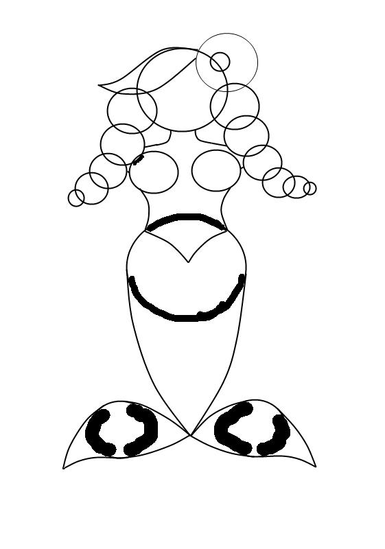 Как нарисовать <strong>русалку</strong>