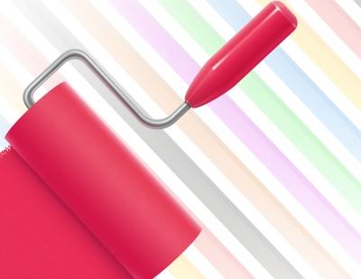 Покраска стен является отличным способом быстро преобразить внешний вид помещения