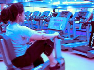 to get rid of fat will help workout in the fitness center