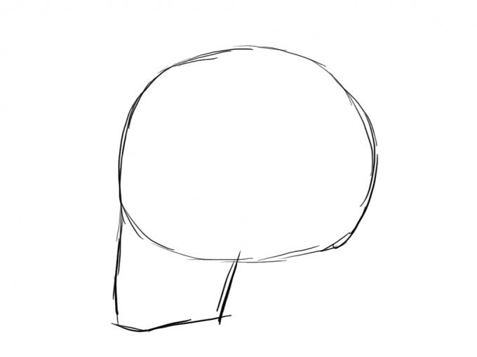 Череп как правильно рисовать