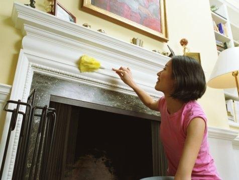 Избавляться от пыли необходимо регулярно