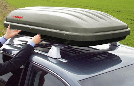 Как установить багажник